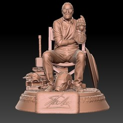 Download 3D printing files StanLee, 3d-designs