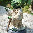 8.jpg Télécharger fichier OBJ gratuit Yoda HD StarWars • Modèle pour impression 3D, 3d-designs