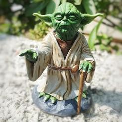 Download 3D model Yoda HD StarWars , 3d-designs