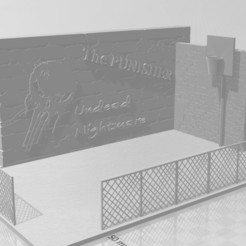 Map.jpg Download STL file The Punisher Undead Nightmare • 3D printer template, FrankCastleCreation