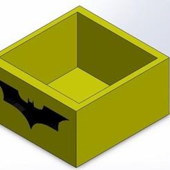 Download 3D printing templates BATMAN POT, Yoyos
