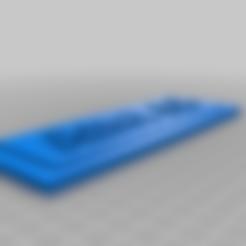 AnetA8Plaque.stl Télécharger fichier STL gratuit Plaque Anet A8 • Plan pour imprimante 3D, eb3849