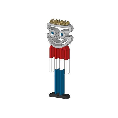 Free 3d printer model Mr. Sam Stratomaker mascot, JeffB