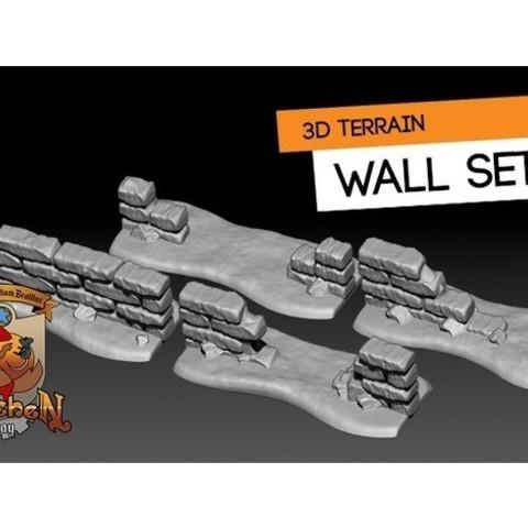 Fichier 3D gratuit Couverture murale, HeribertoValle