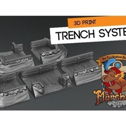 Download free STL Trench System, HeribertoValle