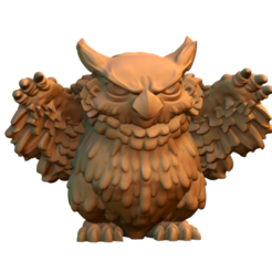 Download free 3D printing models Owlbear Cub, HeribertoValle