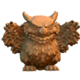 untitled.492.png Download free STL file Owlbear Cub • 3D print template, HeribertoValle