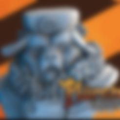 bear.stl Download free STL file Komrade Bear • 3D printing object, HeribertoValle