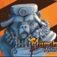 Capture d'écran 2018-02-06 à 14.42.51.png Download free STL file Komrade Bear • 3D printing object, HeribertoValle