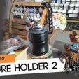 Download free 3D printing designs Mini Holder V2, HeribertoValle