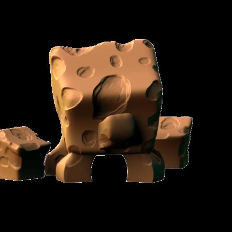 untitled.778.png Download free STL file Tofu Monsters • 3D print design, HeribertoValle