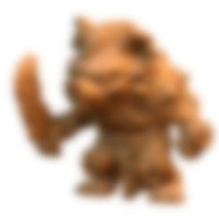 Descargar modelo 3D gratis Gnoll, HeribertoValle