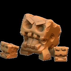 Imprimir en 3D gratis Monstruos Tofu, HeribertoValle