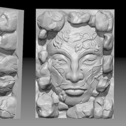 Free 3D model Kingdom death terrain - Face, HeribertoValle