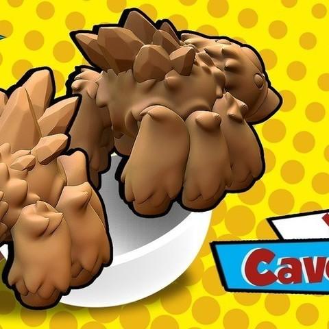 Archivos 3D gratis Araña de la cueva, HeribertoValle