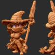 Capture d'écran 2018-01-24 à 12.14.15.png Download free STL file Kingdom Death Flower witch Chibi • 3D printing template, HeribertoValle