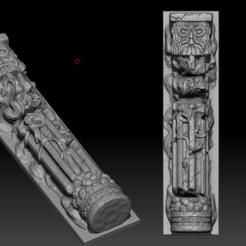 Archivos 3D gratis Muerte del Reino Columna, HeribertoValle