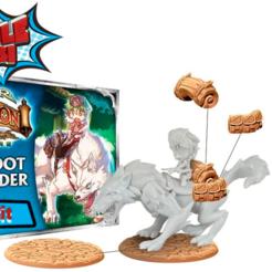 stl Kit de conversión Super Dungeon Deeproot Wolfrider gratis, HeribertoValle