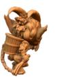 Descargar archivos STL gratis Krampus chibi miniatura, HeribertoValle