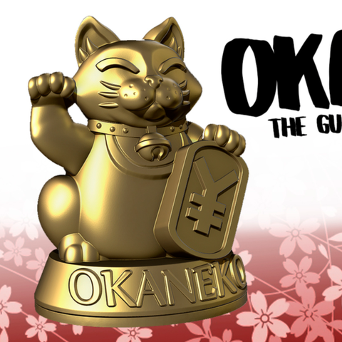 Capture d'écran 2018-01-24 à 12.11.27.png Download free STL file OKANEKO • 3D print model, HeribertoValle