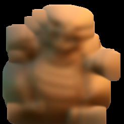 Descargar modelo 3D gratis Godlizard, HeribertoValle