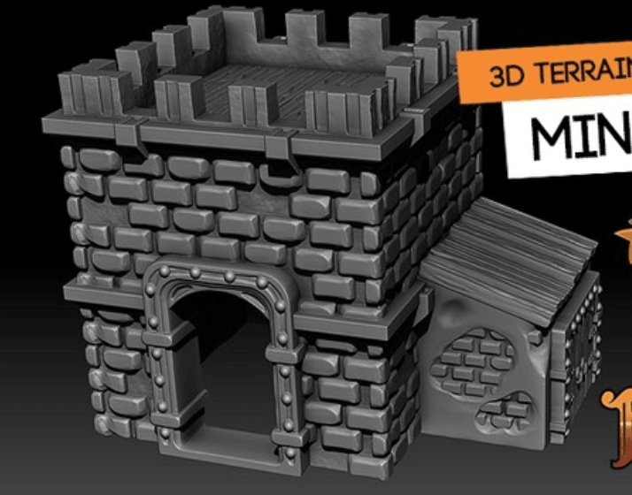 Capture d'écran 2018-06-26 à 14.30.12.png Download free STL file Minifort • 3D print model, HeribertoValle