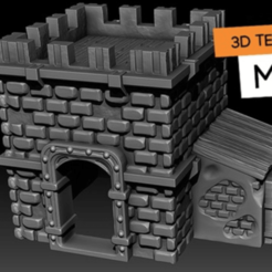 Free 3D model Minifort, HeribertoValle