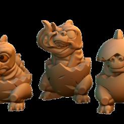 Free 3D model Demilizards, HeribertoValle