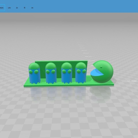 Download free 3D model business card pacman, igotitmpm