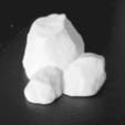 Capture d'écran 2018-02-07 à 17.06.15.png Download free STL file  Cluster of Rocks • 3D printer model, daandruff