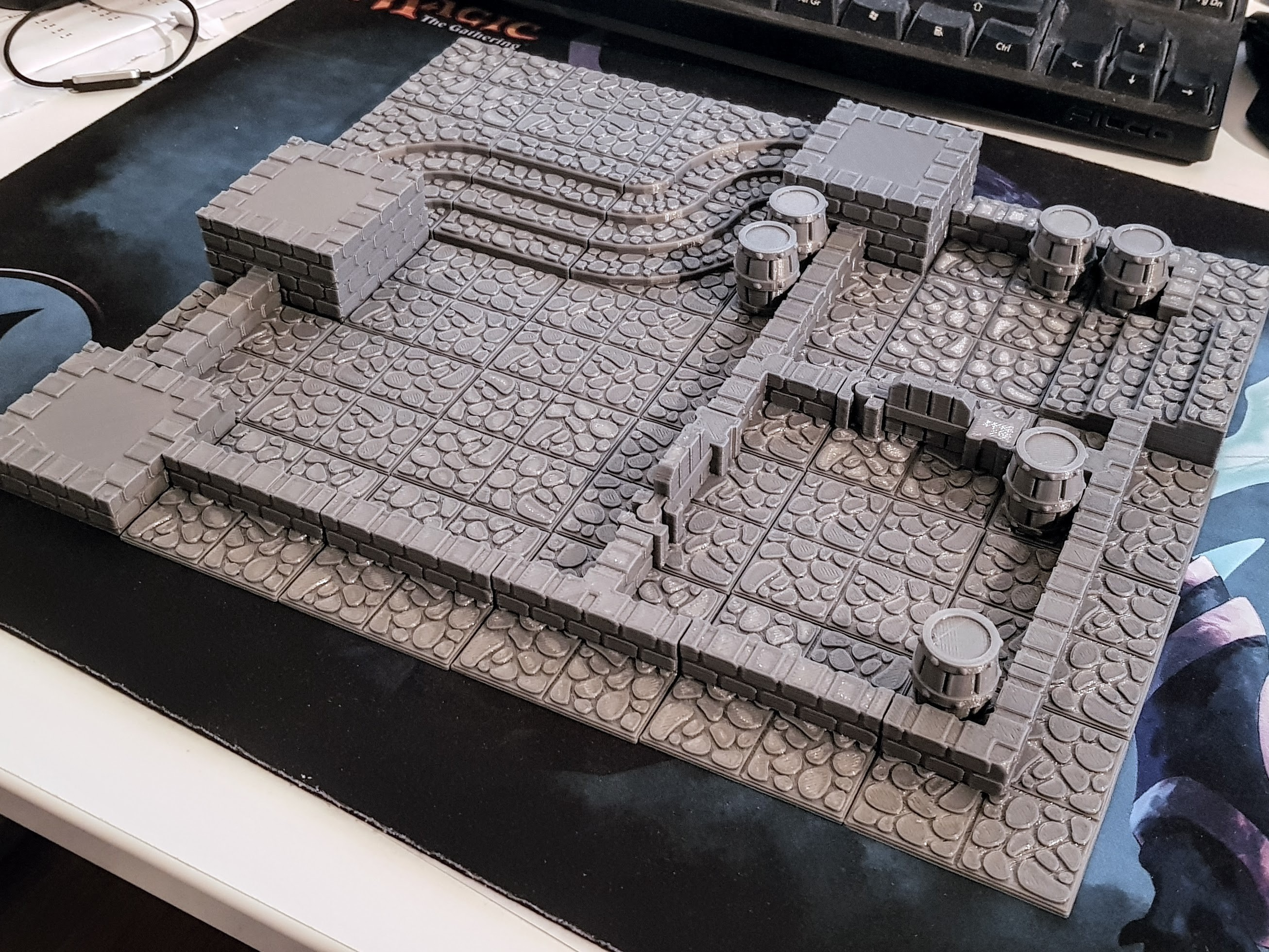 20180322_205029.jpg Download STL file GeneriTiles - Tabletop RPG Tileset • 3D printable object, daandruff