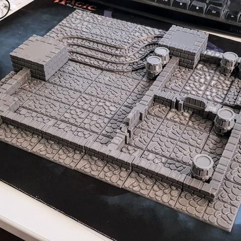 20180322_205029.jpg Télécharger fichier STL GeneriTiles - Topset de table RPG • Modèle pour imprimante 3D, daandruff