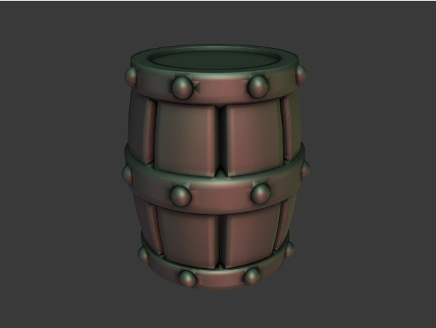 ef363541e21c3884a81c111ca93d4d9b_preview_featured.jpg Download free STL file Barrel and Mimic Barrel • 3D printable object, daandruff