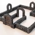 Free 3d model Brick Doorway, daandruff