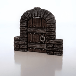 Download free 3D printer files Brick Doorway, daandruff