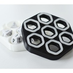 9c877f3ef3392d805bd9c5fc252626b8_preview_featured.jpg Download free STL file Dice Box - Printed Locking Mechanism • Design to 3D print, daandruff
