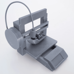 Free 3D printer file Toy 3D-Printer, daandruff