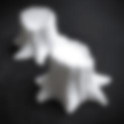 Free 3D file Miniature Tree / Stub, daandruff