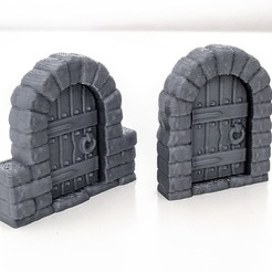 Download free 3D printing models ClickLock - Doors and Doorframes, daandruff