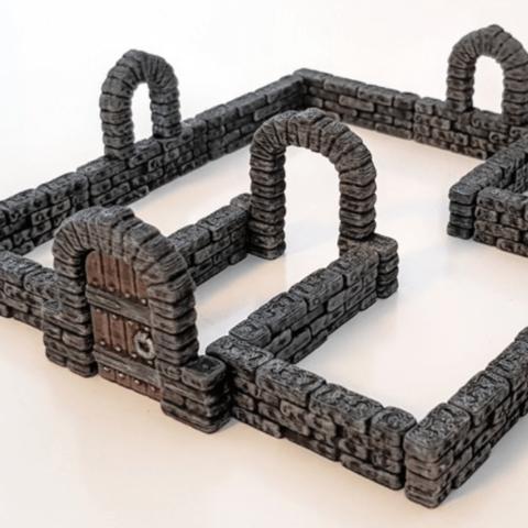 Capture d'écran 2018-06-28 à 10.08.36.png Download free STL file Brick Wall • 3D printable model, daandruff