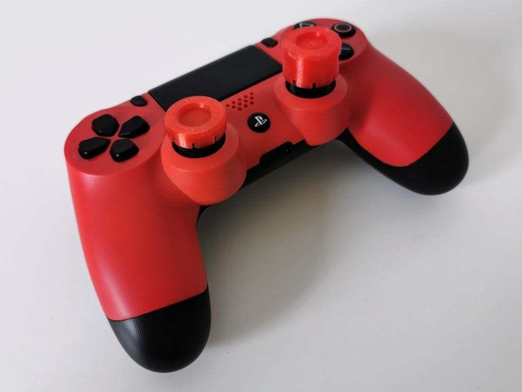 ps4_thumbsticks.jpg Télécharger fichier STL gratuit PS4 Prolongateur de capsule concave • Objet imprimable en 3D, daandruff