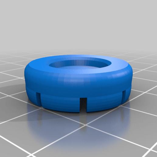 thumbcaps_low.png Télécharger fichier STL gratuit PS4 Prolongateur de capsule concave • Objet imprimable en 3D, daandruff