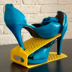 Capture d'écran 2018-01-24 à 15.43.19.png Download free STL file Shoes optimizer rack • 3D print template, alexnz