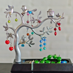 Download free 3D printer templates Jewellery tree, alexnz