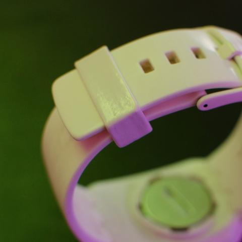 Free 3D printer file Swatch TOUCH spare strap, alexnz
