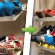 Free 3d print files Shoes optimizer rack, alexnz