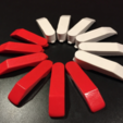 Capture d'écran 2018-01-24 à 14.44.58.png Download free STL file Ninebot mini Pro Wheel Blades • Design to 3D print, alexnz