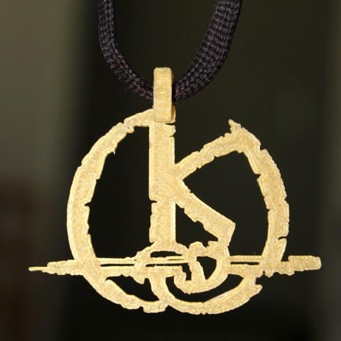 Impresiones 3D gratis Colgante Kaamelott, HellBoy