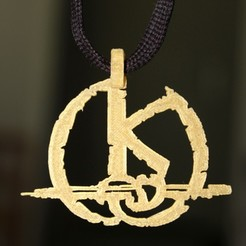 Free 3D printer files Kaamelott Pendant, HellBoy