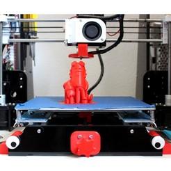 Anet A8_M8 Eyes Cape.jpg Télécharger fichier STL Capuchon Oeil M8 • Objet à imprimer en 3D, HellBoy
